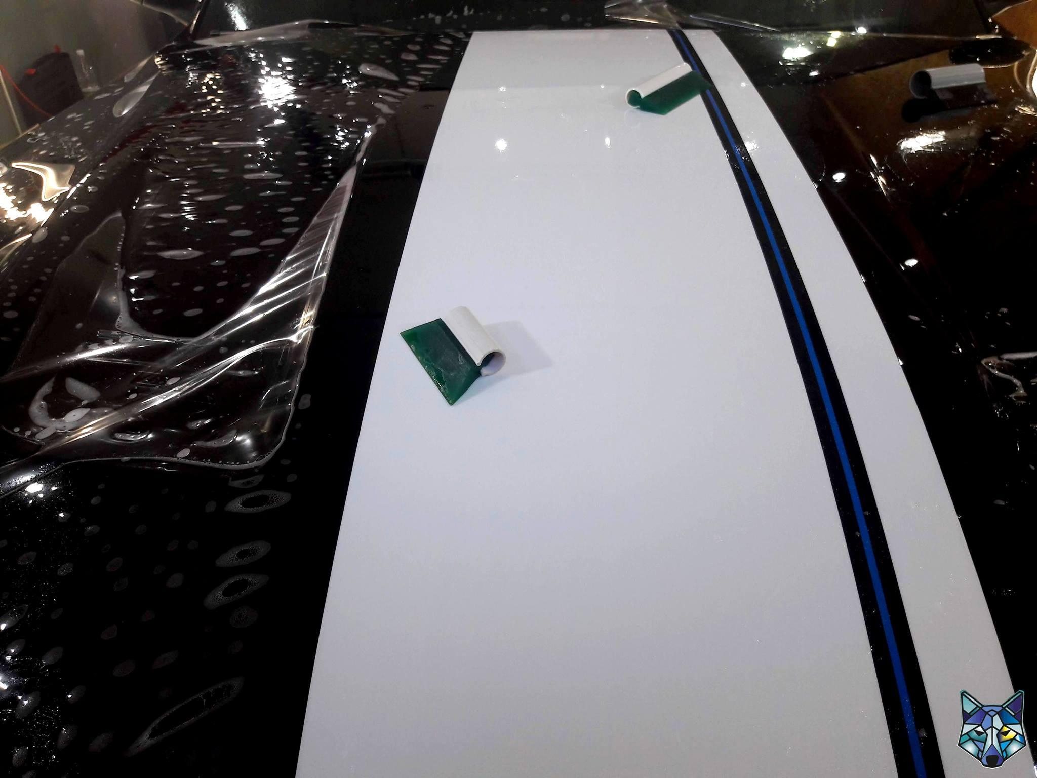 Oklejanie samochodów, ochrona lakieru Ford Mustang
