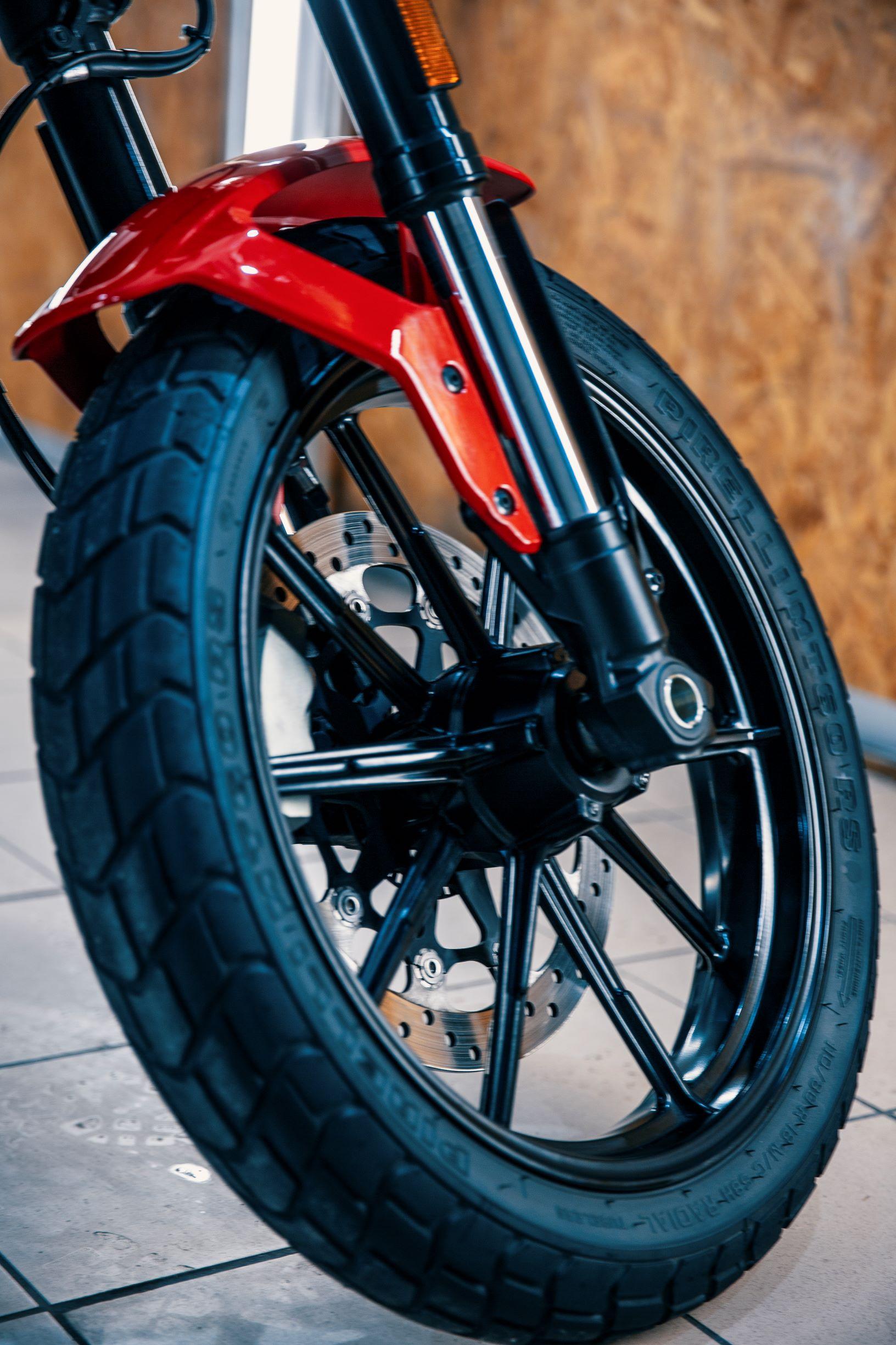 Motocykl Ducati Scrambler
