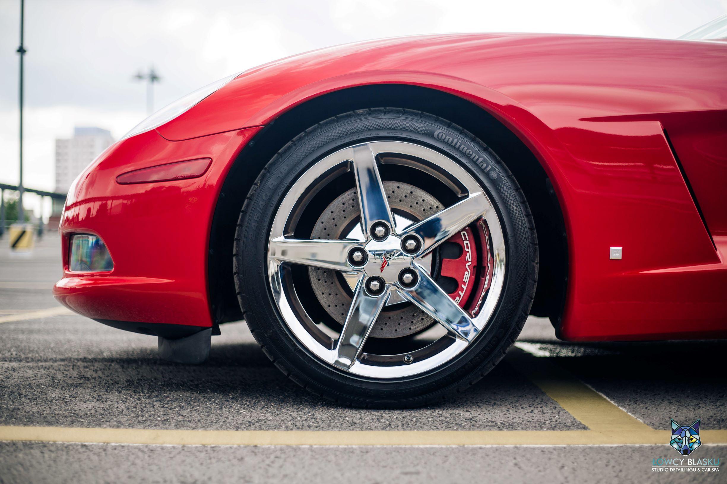 Chevrolet Corvette-pełny detailing