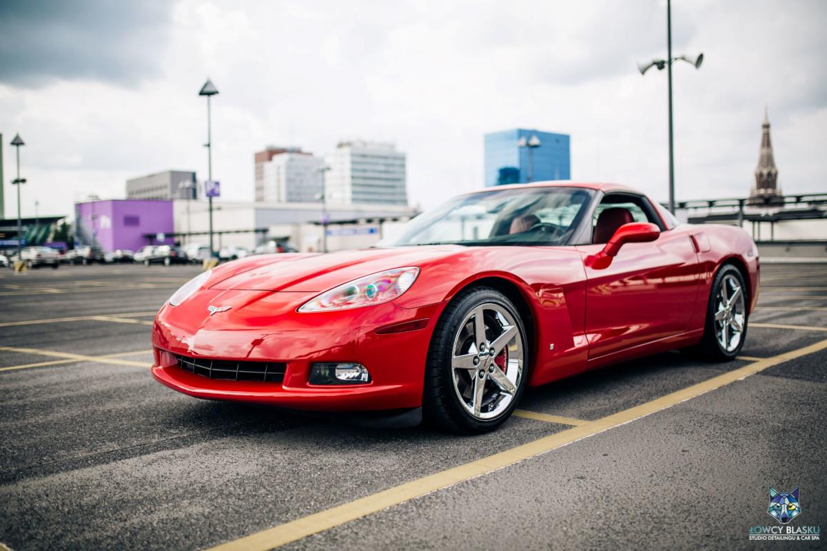 chevrolet Corvette - korekta lakieru